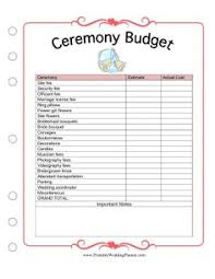 Free Wedding Planner Book The Wedding Planner Attendants Worksheet Has Room For Names And