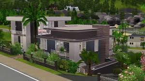 homes built into hillside the sims 3 building a hillside house