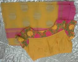 designer blouses collection of colourful kota sarees with designer blouses