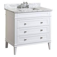eleanor 36 inch vanity carrara u2013 kitchenbathcollection