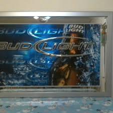 bud light bar light best extremely rare bevelled bud light bar mirror for sale in ocala