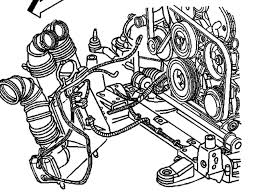 2003 cadillac cts throttle air intake diagram