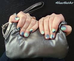 color block nail art with sally hansen iheartmynailart