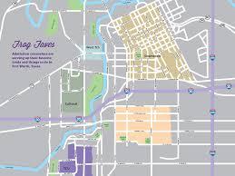 tcu parking map tcu look around