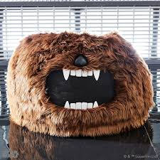this chewbacca bean bag chair is something else