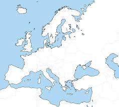 World Map Unlabeled Blank Europe Map Roundtripticket Me