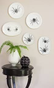 thrift store diy spider wall art design improvised