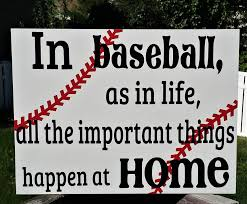 baseball in baseball as in life all the important things