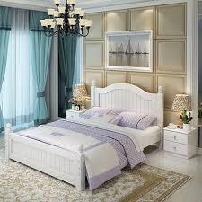 set de chambre bois massif accueil lit mobilier de chambre meubles de maison nordique simple