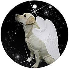 amazon com yellow labrador retriever tiny one dog angel christmas