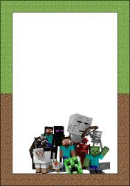 Free Spiderman Invitation Cards Free Printable Minecraft Invitations Cards Or Labels Oh My