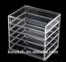 muji bureau muji bureau organisateur acrylique transparent boîte à bijoux