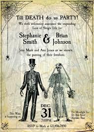 21 halloween wedding invitation templates u2013 free sample example