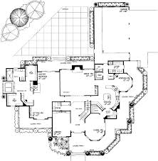 Luxury Mansion House Plan First Floor Floor Plans 90 Best House Plans Images On Pinterest Modern House Plans