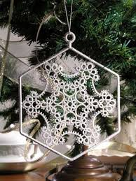 384 best tatting snowflakes images on pinterest tatting lace