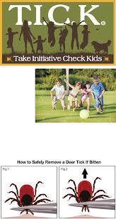 take initiative check kids t i c k ohdeer