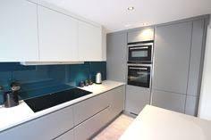 grey kitchen design two tone kitchen design in pearl grey and white matt kitchen finish