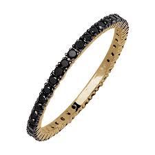 alliance en or bague alliance en or diamants noirs black riviera