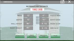 Garage Measurements Udesignit 3d Garage Shed Android Apps On Google Play