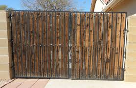 Wood Slats by Rv Yard Gate Makeovers