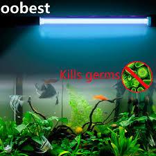 uv light to kill germs oobest kills germs 5w ip68 waterproof aquarium fish tank uv light