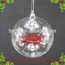 ornaments clear glass baubles wholesale buy