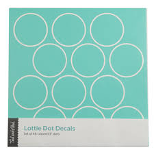 lottie dots gold metallic decal the land of nod