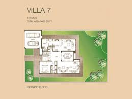 Villa Floor Plan by The Meadows Villa Floor Plans Emirates Living Property For Sale