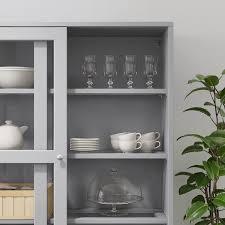 ikea kitchen cabinet sliding doors havsta storage with sliding glass doors gray 47 5 8x18 1