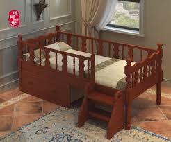 latest design solid wood kid bedroom furniture baby pine wood