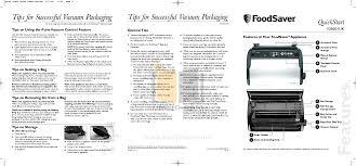 manual foodsaver download free pdf for foodsaver v2860 vacuum sealers other manual