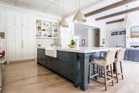 best wall color for navy cabinets our favorite blue kitchen cabinet paint colors christopher