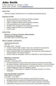example of chronological resume chronological resume example mft