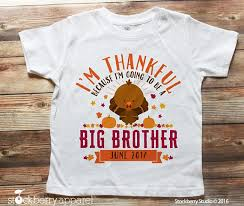 thanksgiving pregnancy announcement shirt thanksgiving big