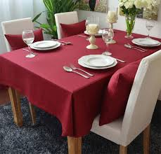 themed table cloth solid colored thick cotton table cloths table cover restaurant