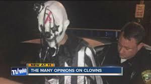 clowns ny creepy clown sightings on edge