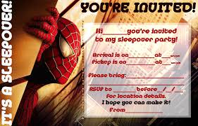 free spiderman party invitation printable u2013 orderecigsjuice info