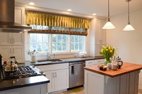 modern kitchen window treatments large window treatments and why you should get them custom made