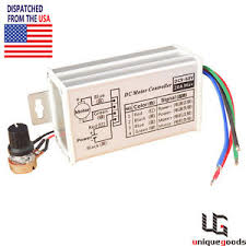 fan motor speed control switch dc variable speed motor controller ebay