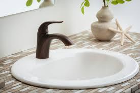 maxwell oval single hole self rimming bathroom sink gerber plumbing