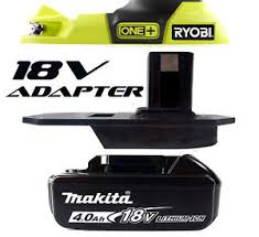 ryobi fan and battery makita portable fan mister fan battery adapter for ryobi 18v one