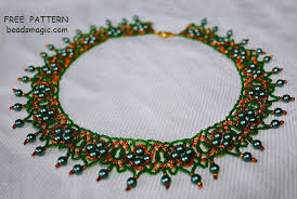 handmade necklace tutorial images Beads magic free beading patterns and everything about handmade jpg