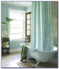 Shower Curtain Beach Theme Oval Shower Curtain Rod For Clawfoot Tub Home Design Beach Cottage