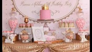 cute princess tea party decorations ideas youtube
