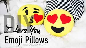 diy heart emoji pillows u2013 ann le style