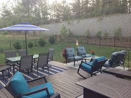 Outdoor Furniture Charlotte by Charlotte Nc Concrete Patio And Deck Expansion Project Lake