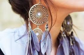 feather earring jewels earrings feathers large earrings gold flower shape