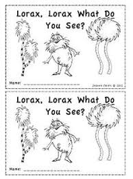 seuss emergent reader lorax lorax what do you see