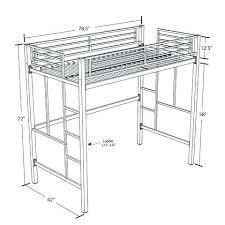 Bunk Bed Metal Frame Metal Loft Bed Metal Frame Loft Bed Bunk Beds Metal