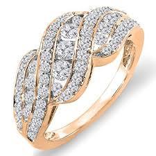 ladies rings diamond images 1 00 carat 14k white gold round diamond ladies jpg
